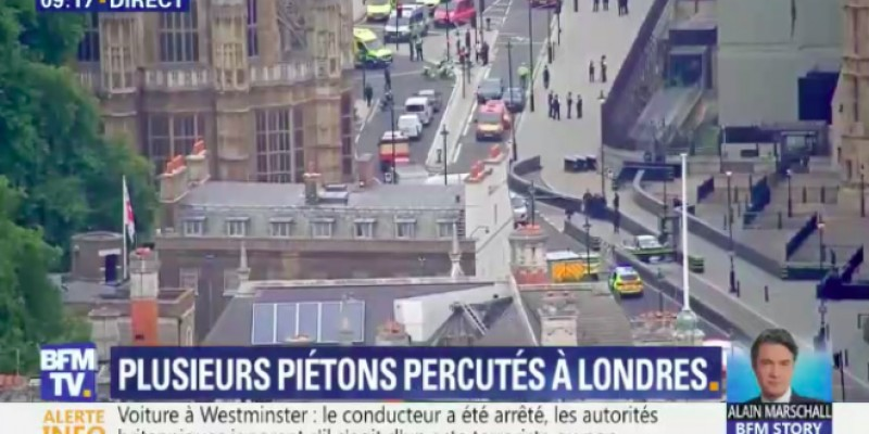 Ce que l'on sait sur l'attaque contre le Parlement à Londres (VIDEO)