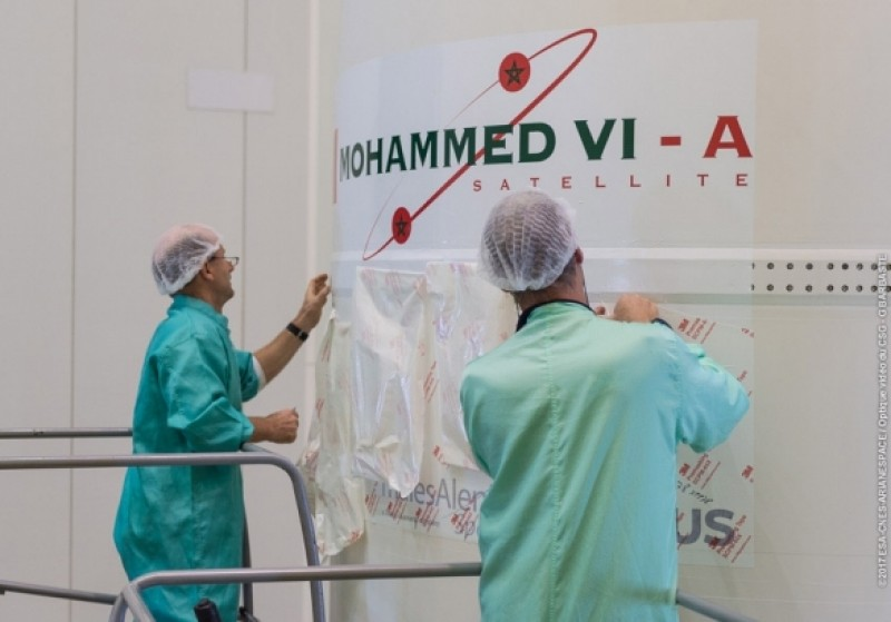 "Voici la date officielle du lancement du satellite ""Moahmmed-B"""